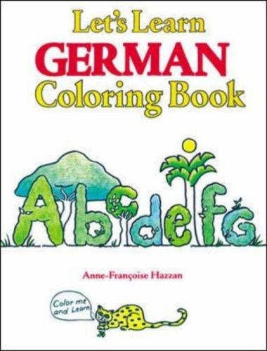 Let's Learn German Coloring Book