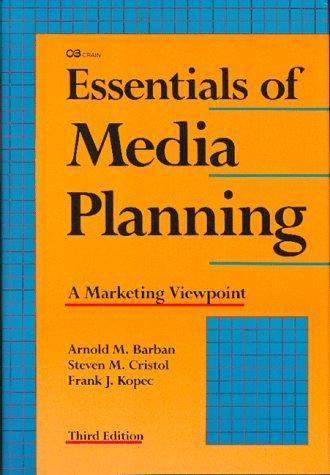 Essentials of media planning
