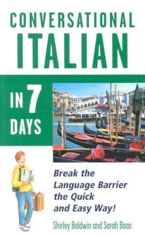 Conversational Italian in 7 days