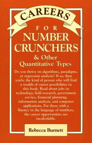 Download Careers for number crunchers & other quantitative types