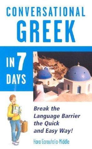 Download Conversational  Greek in 7 Days