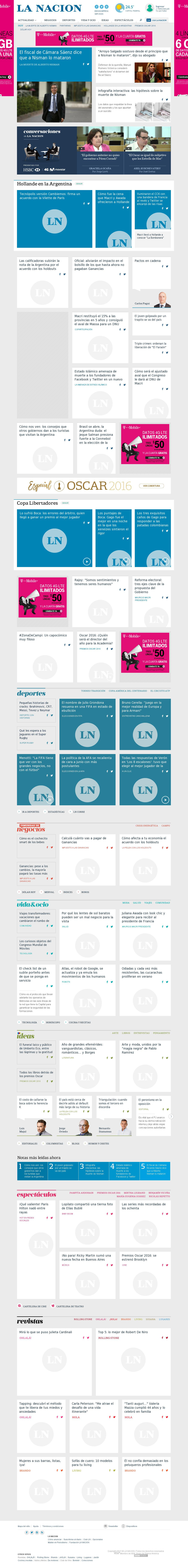 lanacion.com at Thursday Feb. 25, 2016, 3:14 p.m. UTC
