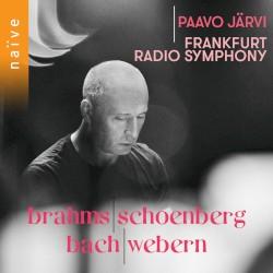 Brahms / Schoenberg / Bach / Webern by Brahms ,   Schoenberg ,   Bach ,   Webern ;   Paavo Järvi ,   Frankfurt Radio Symphony