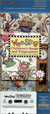 Wee Sing Children's Songs and Fingerplays book and cd by Susan Hagen Nipp